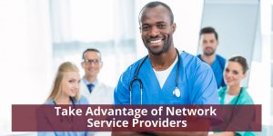 Take Advantage of Network Service Providers